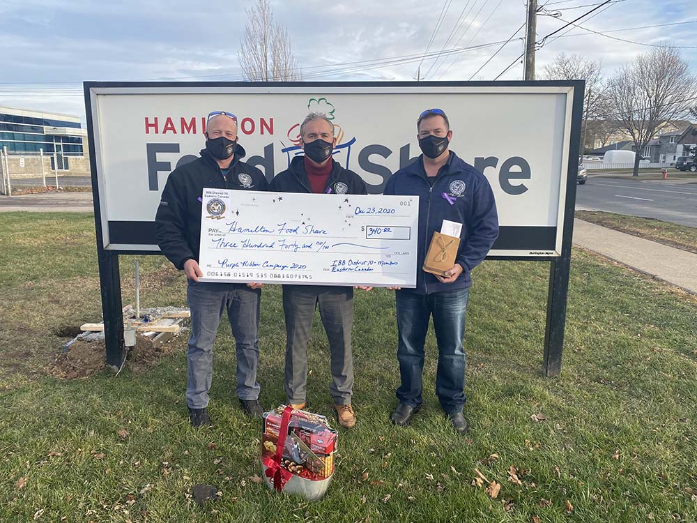 D-10 Donation to Hamilton Food Share