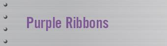 Purple Ribbon Campaign