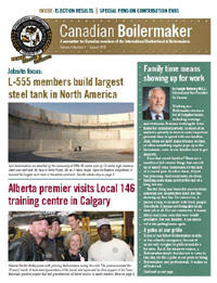 Canadian Boilermaker Newsletter - August 2018