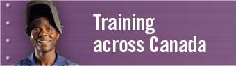 Training across Canada